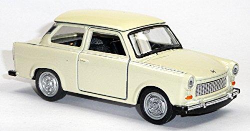 Trabant beige Trabi Trabbi DDR Modellauto 11 cm