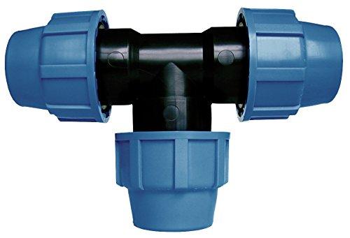 Cornat Bewässerungssystem  T-Stück PE-Rohr, Ø 32 mm, Polypropylen, für Kaltwasser