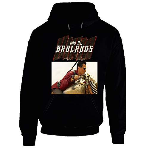 Into The Badlands Danial Wu Arts Martiaux Action TV série Poster Style Hoodie - Noir - Medium