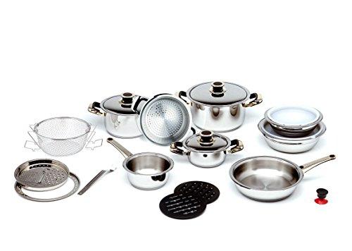 Batería de cocina 20 piezas con Termo Difusión | Excelsior