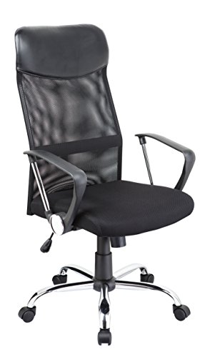 Duhome Executive Office Chair Black Mesh High Back Swivel...