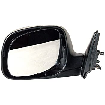 Passengers Power Side View Mirror with Chrome Cover Replacement for Toyota Pickup Truck 879100C040 AUTOANDART