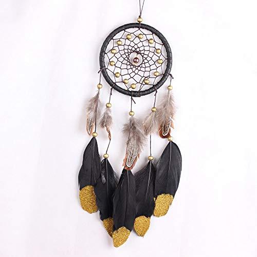 ZGPTX Atrapasueños Fondo de Mano de Encaje Borla Mariposa con luz Colgante de Pared Boho atrapasueños bebé Cuna Tribal bebé Arte de Pared