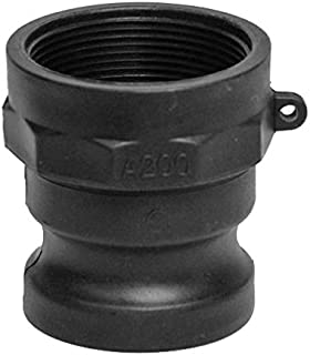 IrrigationKing RKA-150P a Type Polypropylene CAMLOCK, Polypropylene, 1-1/2