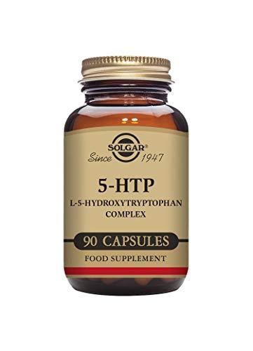 Solgar 5 - HTP ( L 5- hidroxitriptófano ) Complejo - 90 cápsulas vegetales - UE - compatible