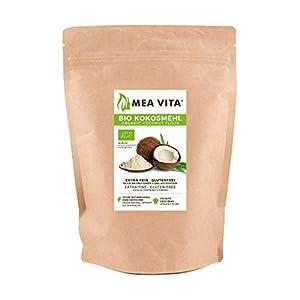 Meavita Meavita Harina de Coco Orgánica, 1 Paquete (1 x 2500 g)
