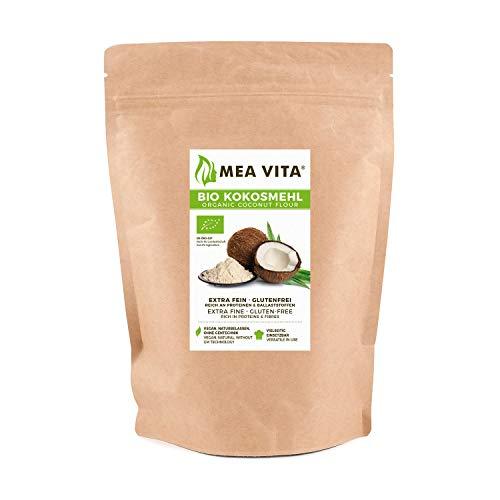 MeaVita Bio Kokosmehl, im Beutel, 1er Pack (1 x 2.5 kg)