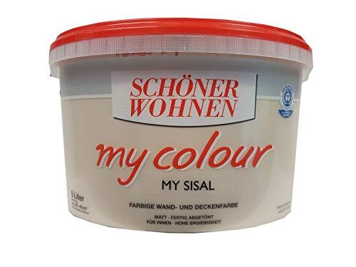 Schöner Wohnen - my colour Wandfarbe matt - 8523 My Sisal, 5 L