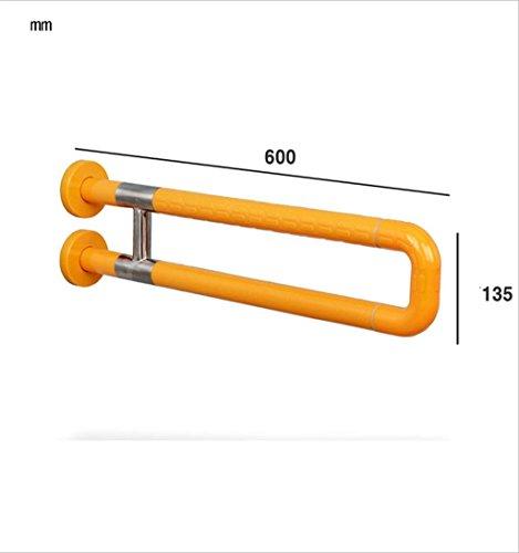 WYJW Badkamer nylon barrière-vrij met benen badkamer toilet wastafel leuning helling leeftijd man handicap (grootte: 75cm)