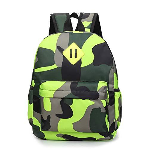 Kleinkind Kinder Rucksack für Kindergarten Junge Babyrucksack Schultasche Camouflage Schultasche Outdoor Freizeit Daypack