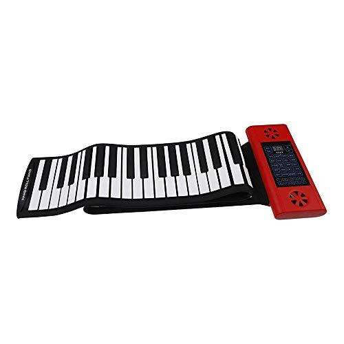 Hammer La música digital del teclado de piano MIDI portátil de diseño, electrónica rueda for arriba el teclado del piano con, Teclado portátil Piano, grado superior de silicona y Amplificación Altavoc