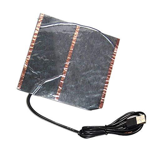 Funihut Verwarmingsfolie, USB, van koolstofvezel, infrarood verrekijker, 5 V, USB, elektrische verwarming, warm pad voor muismat en voetenwarmers