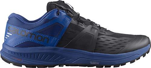 SALOMON Ultra/Pro, Zapatillas de Trail Running Hombre, Black/Turkish Sea/Pearl Blue, 44 EU