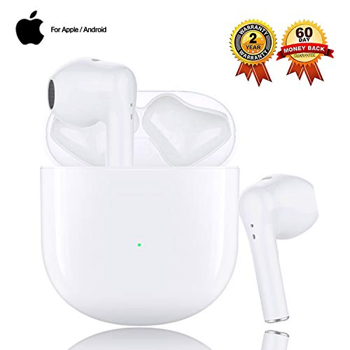 Auricolari Bluetooth Cuffie Bluetooth 5.0 Cuffie Wireless Sportive IPX7 Impermeabili Riduzione del Rumore Stereo 3D HD Insonorizzato adatte per Apple AirPods Pro/Android/iPhone Cuffie In Ear