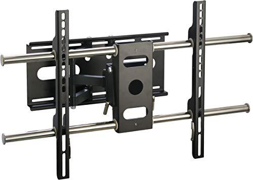 SCHWAIGER -LWH603D 011- TV-Wandhalterung für Flachbildschirme mit 94-178 cm (37-70 Zoll)   Halterung für LCD LED TFT Plasma   max. Belastung 60 kg   schwarz