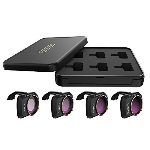 Antonia Kameralinsenfilter Für DJI Mavic Mini Drone, 4 Pack Linse Filter Mehrfach Beschichtet Optisches Glas Filter ND4/PL,ND8/PL,ND16/PL,ND32/PL