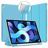 VAGHVEO Funda para iPad Air 4 Gen 10.9 2020 & Pro 11 Pulgadas 2018 Cover con Soporte Para Lápices,...