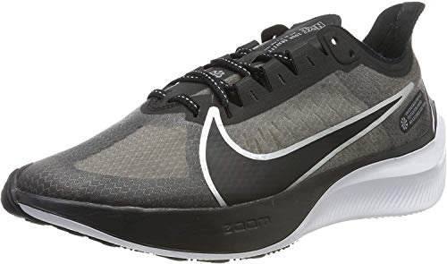 Nike Zoom Gravity, Zapatillas de Running para Hombre, Negro (Black/Mtlc Silver/Wolf Grey/White/Cool...