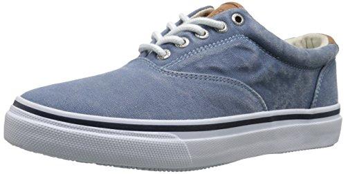 Sperry Top-Sider Men's Striper LL CVO Sneaker Boat Shoe Navy Blue Palm