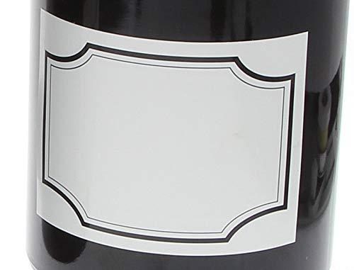 Kosmetex apothekersflessen, etiketten, 5 x 5 cm, stickers voor flessen, blikjes, labels voor cosmetica, aroma, olie DIN A8
