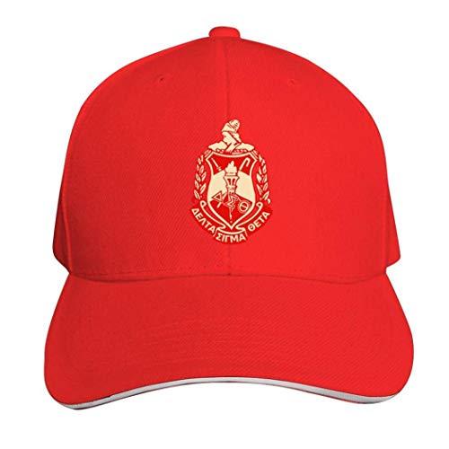 Delta Sigma Theta Casquette Hat Neutral Verstellbare Truck Driver Cap, Herren, 457P59Q-SGB-MMZ, rot, Einheitsgröße