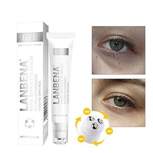 1Bottle Crema Natural Mascarilla Facial de Antiedad/Crema Antiarrugas para Mujer Serum Facial y para el Contorno de Ojos Formulada para Elevar Rápida y Eficazmente los Párpados Caídos (20ml / 0.7oz)