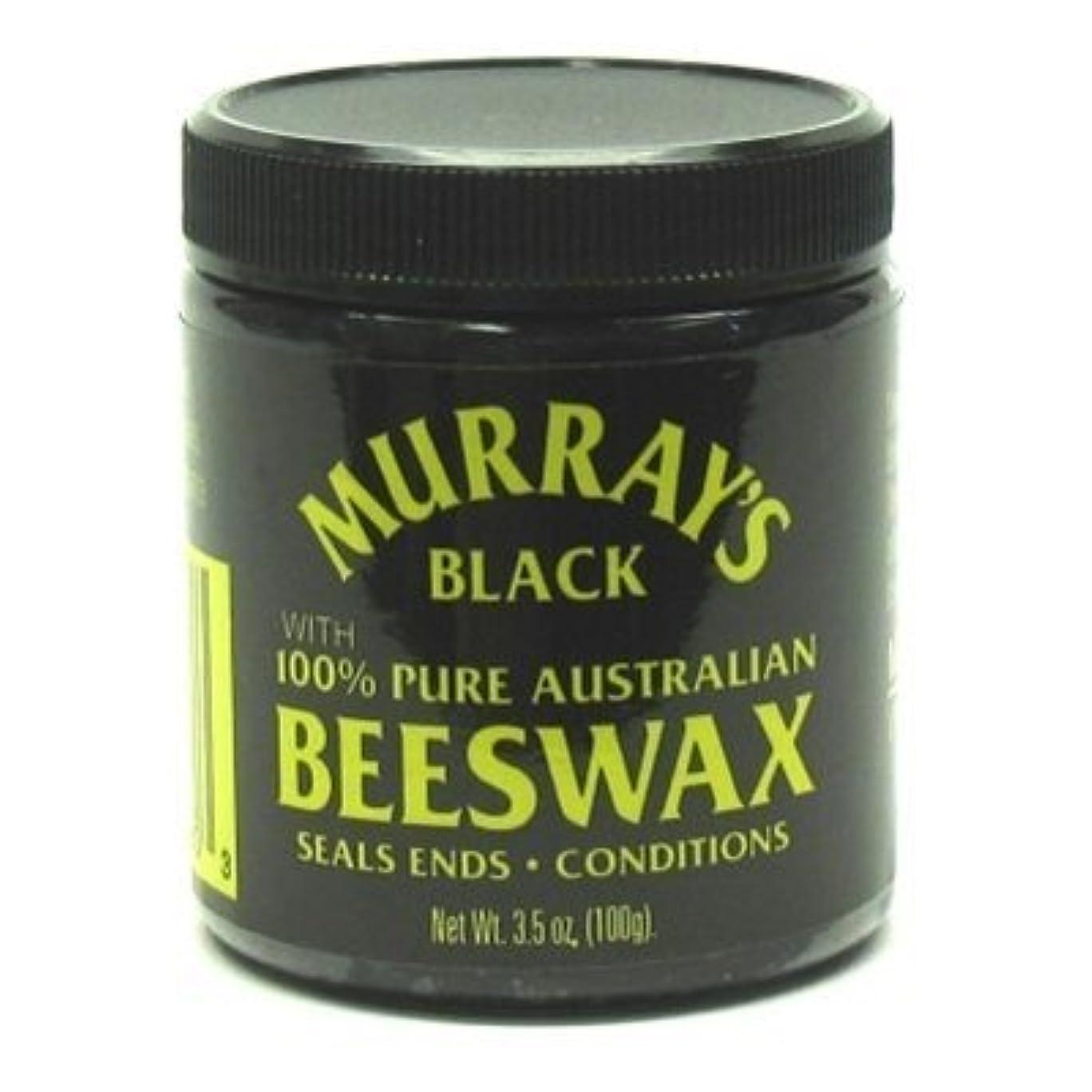 細胞社説地元Murray's 黒蜜ろう、3.5オズ(2パック)