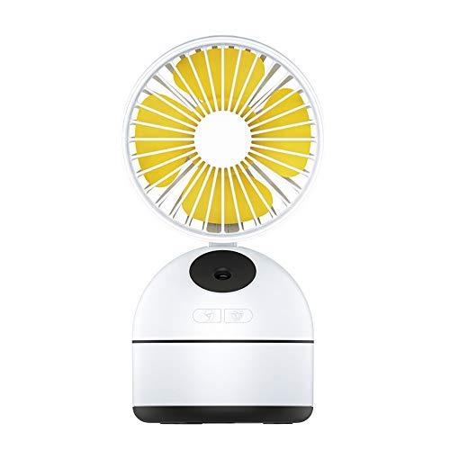 ZJZ Mini Ventilador, Pulverización Ventilador con Pilas Recargables Ventilador de Pulverización de...