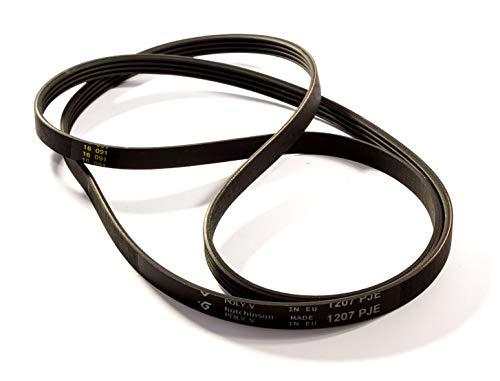 LUTH Premium Profi Parts Waschmaschinen-Riemen 4PJE 1207 passend für Whirlpool Gorenje Ariston Ignis Indesit 481235818204 461975021811