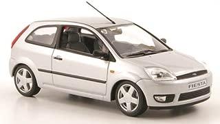 Ford Fiesta, plateado, 3 puertas , 2002, Modelo de Auto, Minichamps 1:43