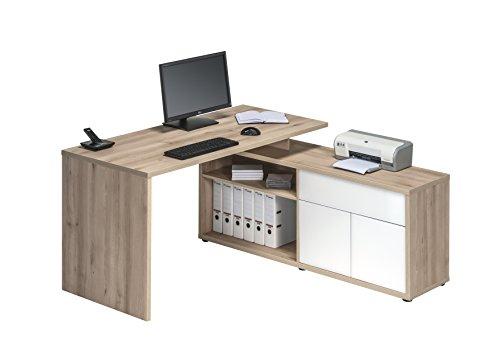 MAJA Möbel Schreib- und Computertisch, Holz, Natur