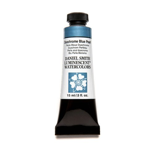 DANIEL SMITH Extra Fine Watercolor 15ml Paint Tube, Duochrome Blue Pearl