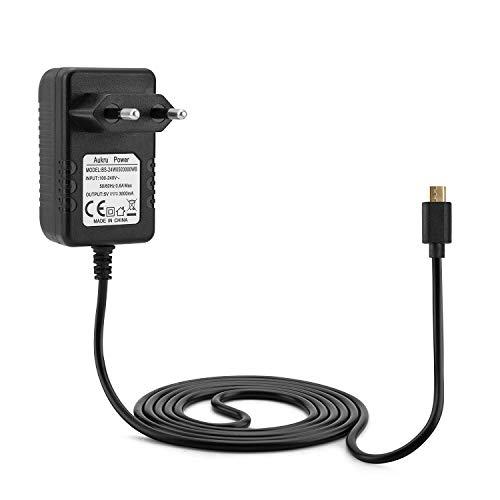 Aukru, Alimentatore micro USB 5V 3000 mAh per Raspberry Pi 3 modello B+ Plus/Pi 3, Pi 2 Modello B+ Plus, Banana Pi, 1.5 metri