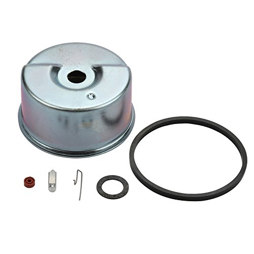 Panari Carburetor Float Bowl & Needle Seat Kit for Tecumseh 640086 640086A 632641 632552 HSK600 HSK635 HSK845 HSK850 AH600 TH098SA TH139SA TH139SP Toro CCR Powerlite Snow Blower