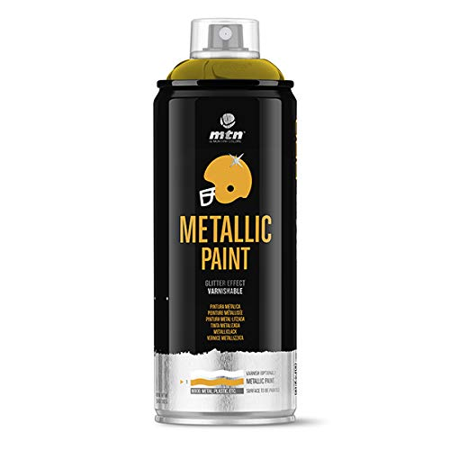 Montana Colors MTN PRO Metalizado Oro R-1036, Spray, Oro, 400 ml