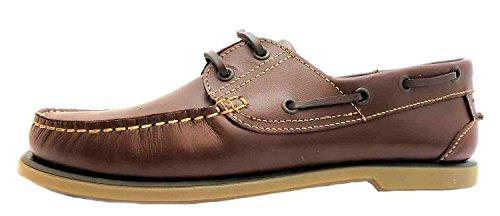 Dek - Zapatos para Hombre, Color Brown (Tan Sole), Talla 43