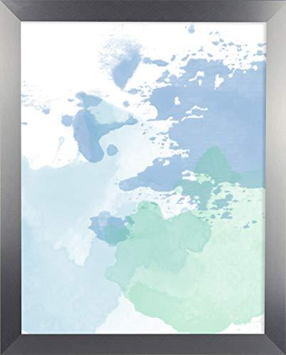 Misano rand fotolijst 15,7x31,5 Inch (40 x 80 cm) met Antireflecterende kunststof glas Perspex 31,5x15,7 Inch fotolijst Kleur Geborsteld Aluminium Decor