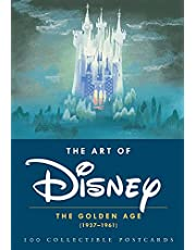 The Art of Disney: The Golden Age (1937-1961) 100 Collectible Postcards