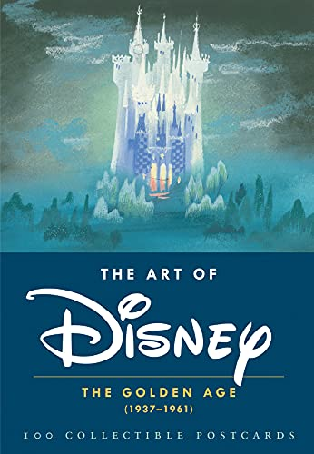 Chronicle Books 100 Collectible Postcard Box Format- The Art of Disney: The Gold...