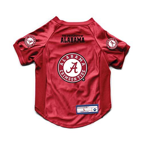 NCAA Alabama Crimson Tide Pet JerseyJersey Stretch, Team Color, Extra Large