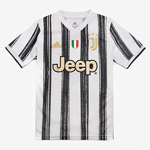 Juventus Maglia Home - Personalizzata con Nome e Numero Giocatore - Ronaldo Dybala Arthur - Stagione 2020/2021 - Bambino
