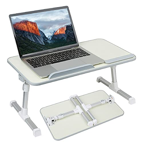 autumndeer Laptop Stand Computer Desk, Adjustable Laptop Table, Bed Tray,...
