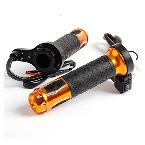 Motorrad Handgriff Elektrische Heizgriffe für Roller Modifikation Einstellbare Winter Warme Lenker Mit 2 Gängen