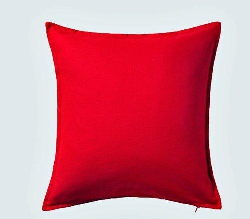 Ikea Gurli katoenen kussensloop 20 Inch door 20 Inch Rood door IKEA