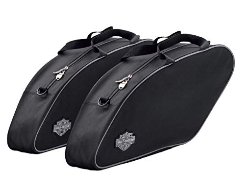HARLEY-DAVIDSON Motorrad Satteltasche - Travel-Paks Sport Glide - Motorradtasche Wasserdicht mit Tragegriffen - Reisetasche Zubehör mit Bar & Shiel d Logo