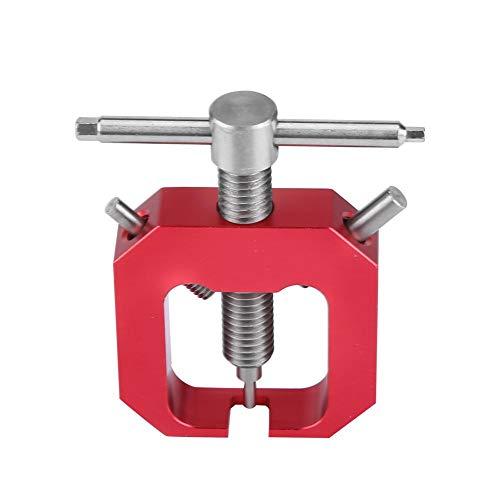 Tbest Extractor de Engranajes del Motor, Conjunto de Herramientas de extracción del Extractor de Engranajes del piñón del Motor RC Modelo Hobby Piezas del piñón del Motor(Rojo)