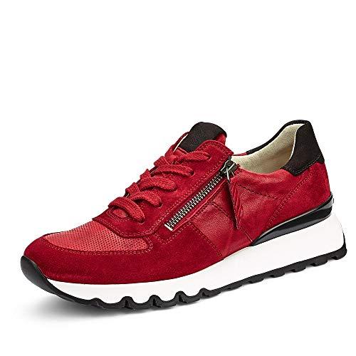 Paul Green 4965 Damen Sneakers Rot, EU 38,5