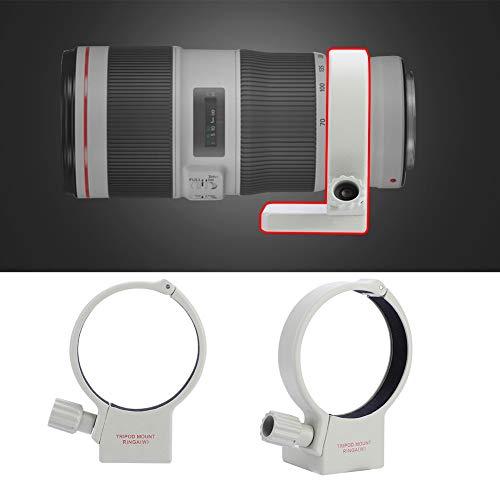 Socobeta Camera Lens Tripod Adjustable Durable Aluminum Alloy Mount Collar Ring Shock-Absorbing for 70-200mm F4/F4L is USM