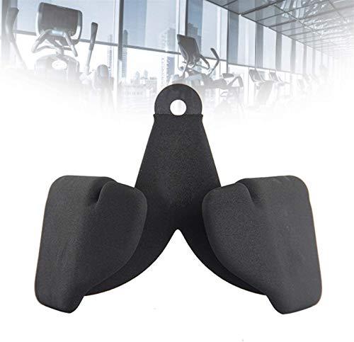ZGHTD Entrenamiento Back Steel Fitness Alto Tire hacia Abajo Mango, Forma En V Cable Antideslizante Equipos De Aptitud para La Aptitud, Uso De Levantamiento De Pesas
