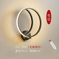 2020 Latest Design その円形室内灯モダンな客室創造単にヘッドランプの夜北欧第四月LEDウォールランプ,再